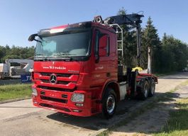 standaard trekker Mercedes-Benz ACTROS 3360 6X4 + HIAB 251S80 WOOD CRANE