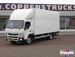 bakwagen vrachtwagen FUSO Canter 7 C 18 Gesloten bak met klep Euro 6 2016