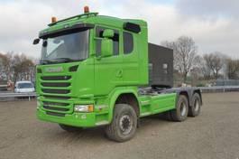standaard trekker Scania G 450 CA - 6x6 HHZ - 251.708 Km - EURO 6 - RETARDER