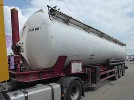 silo oplegger SPITZER Eurovrac SK2465 CAL ADR ,CEMENT Rieselguter,Granulat,Silo,Cistern,65m3 2005
