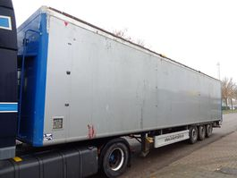 walking floor oplegger Kraker CF 200 - Cargo Floor - Wabco Weighting system - 07/2021 TUV - ABS 2008