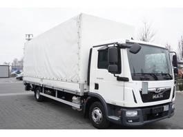 huifzeil vrachtwagen MAN TGL 12.250 , E6 , 60 k km !!! curtain + lift 18 EPAL , Dholland 2018