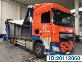 schuifzeil vrachtwagen DAF XF 460 Space Cab - 6x2 2017