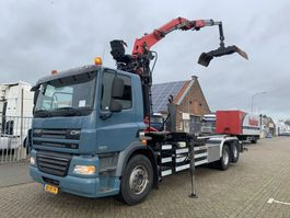containersysteem vrachtwagen DAF FAS CF 85.360 6x2 Palfinger Z 12ton/mtr Container systeem 2012