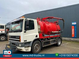 kolkenzuiger vrachtwagen DAF CF 75 250 EURO 2 VACUUM TRUCK 2001