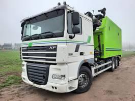 kipper vrachtwagen > 7.5 t DAF XF105.460 6X2 TIPPER INTARDER LIFTACHSE EURO 5 PENZ 92ZR7.6