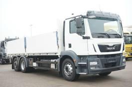 open laadbak vrachtwagen MAN TGM 26.340 Pritche 7,20 Stapler Lenk NL 16,7t 2015