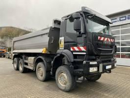 open laadbak vrachtwagen Iveco AD410TW TRAKKER 450 8x8 Euro 6 Muldenkipper TOP! 2017