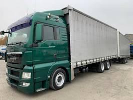 mega-volume vrachtwagen MAN TGX 26.440 Pritsche+Plane 6x2 120cm³