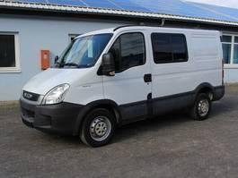 gesloten bestelwagen Iveco Daily 35S13 5-Sitzer Doppelkabine AHK Klima