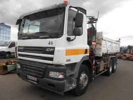 kipper vrachtwagen > 7.5 t DAF CF85 2007
