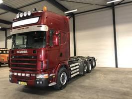 containersysteem vrachtwagen Scania 144 530 8x2 /Topline / Full air / Retarder 2000
