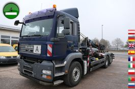 kipper vrachtwagen > 7.5 t MAN TGA 26.440 6X2-2BL PLAFINGER KRANE PK12502 KLIMA 2006