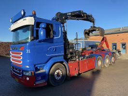 containersysteem vrachtwagen Scania R520LB8X44 Euro6 2014
