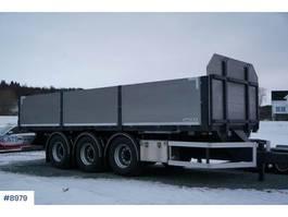 overige vrachtwagen aanhangers Elbo trailer with frames and container lock, virtu 2017