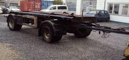 container chassis aanhanger Meiller 2 achs Absetzkipper 5 m zwilling blatt 2003
