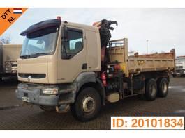 kipper vrachtwagen > 7.5 t Renault Kerax 400 - 6x4 2001
