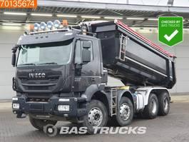 kipper vrachtwagen > 7.5 t Iveco Trakker 340 Hi-Land AD340T41 8X4 Big-Axle Steelsuspension Euro 6 2014