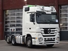 standaard trekker Mercedes-Benz Actros 2548 6x2 Boogie - Mega Space - Retarder -Original white color 2011