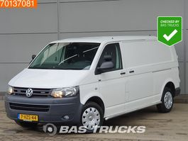 gesloten bestelwagen Volkswagen Transporter 2.0 TDI 140PK DSG 2x schuifdeur Airco Cruise L2H1 6m3 A/C Towbar Cruise ... 2012
