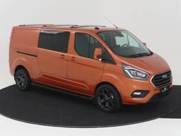 gesloten bestelwagen Ford Transit Custom 300L L2H1 Limited DC 170 PK AUTOMAAT XENON NAVIGATIE ADAPTIEVE CR...