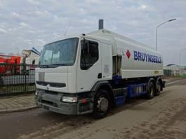 tankwagen vrachtwagen Renault PREMIUM 300 6X2 FUEL TANK / EURO 2 / 19000 LITER / 2002