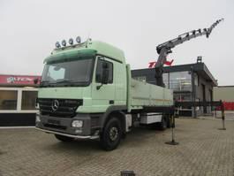 open laadbak vrachtwagen Mercedes-Benz Actros 3358 V8 6x4 / Hiab 422 Hipro + Fly-Jib Kraan-Crane 2005