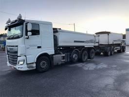 kipper vrachtwagen > 7.5 t DAF XF 530 FAK 8x2/4700 trippeli 2018