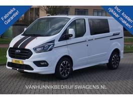 gesloten bestelwagen Ford Transit Custom 320S 185PK DC Sport Aut €459 / Maand Airco, Navi, Camera, Xenon, ... 2020