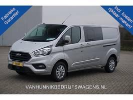 gesloten bestelwagen Ford Transit Custom 320L 170PK DC Limited Aut €436 / Maand Leder Navi Camera Adap. Cr... 2020