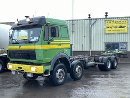 chassis cabine vrachtwagen Mercedes-Benz 3038 Long Chassis V8 ZF Spring Suspension 12 Tyre's  Good Condition 1989
