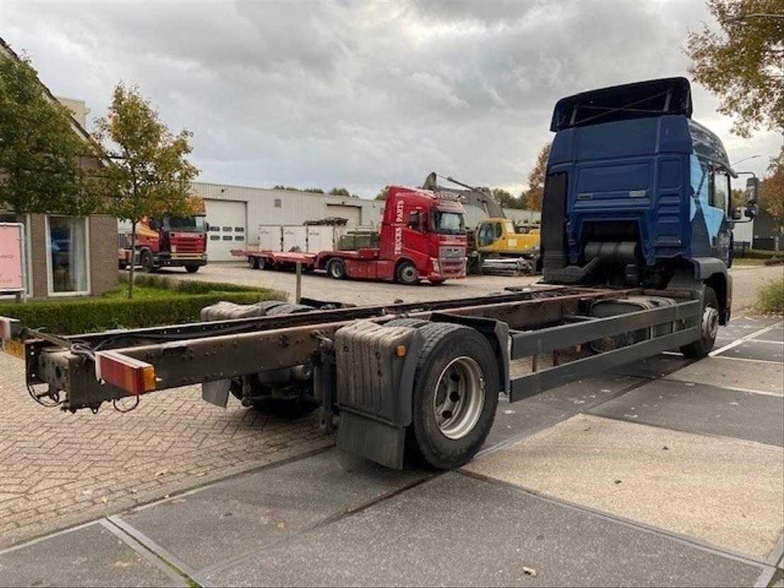 chassis cabine vrachtwagen MAN TGA 18 EURO 3 MANUAL / HANDGESCHAKELD 2001