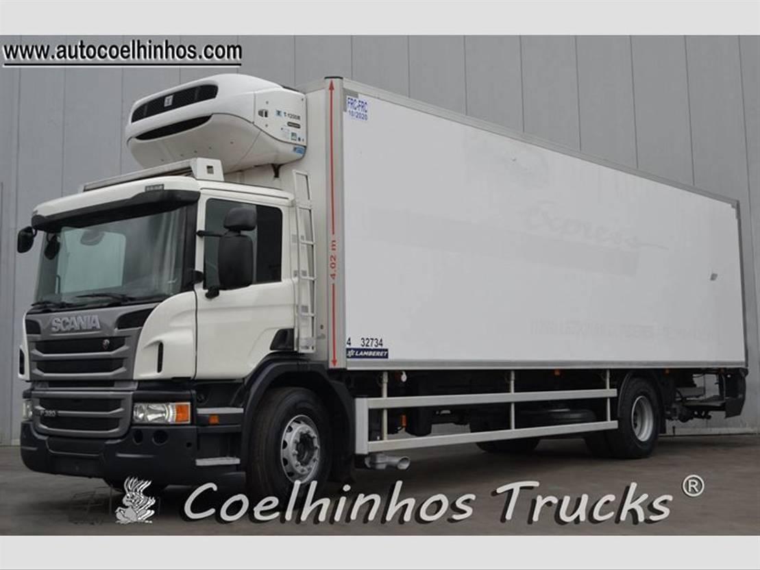 koelwagen vrachtwagen Scania P 320 2014