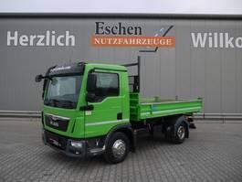 kipper bedrijfswagen MAN TGL 8.180BB, Automatik, Euro 6 2014