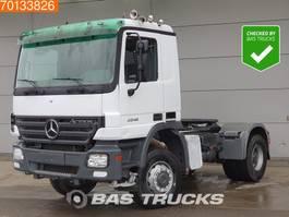 standaard trekker Mercedes-Benz 2041 4X4 4x4 Hydraulik 3-padels Big-Axle Euro 3 2004
