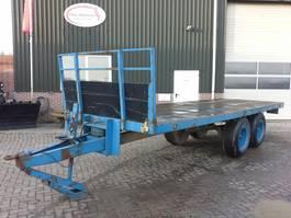 overslagmachine agrarisch Tandemas aanhanger / platte wagen