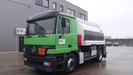 tankwagen vrachtwagen Mercedes-Benz Actros 1835 (BIG AXLE / 13500L / 2 COMPARTMENTS / PERFECT CONDITION) 1997