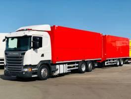 verkoop opbouw vrachtwagen Scania G 410 / E6 / 2 x LBW / LENKACHSE / KOMPLETTZUG