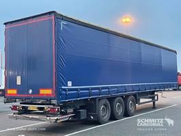schuifzeil oplegger Schmitz Cargobull Schuifzeil Standard Hydr. laadklep 2015