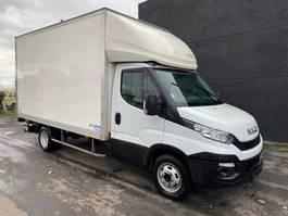 gesloten bestelwagen Iveco IVECO DAILY 35C16 - 2018 - EURO 6 - DUBBEL WIEL - 3.5T - LAADBRUG DHOLLANDIA 2018