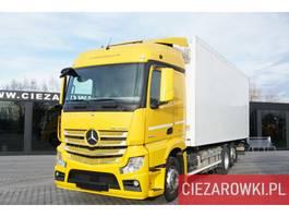 koelwagen vrachtwagen Mercedes-Benz Actros 2542 , E6 , 6x2 , Schmitz 18 EPAL , height 2,6m , retarde 2016