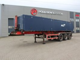 kipper oplegger Kel-Berg 3-axle tiptrailer with alu-body