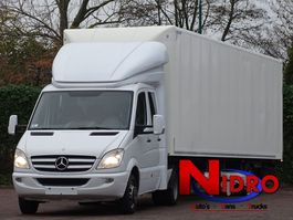 be trekker bedrijfswagen Mercedes-Benz SPRINTER 519 TREKKER OPLEGGER LBW BE LICENSE 2012