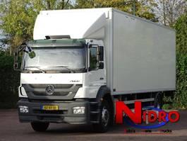 bakwagen vrachtwagen Mercedes-Benz AXOR 1824 L EURO 5 AIRCO LANGE BAK 2012