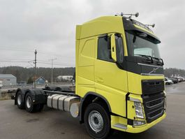 chassis cabine vrachtwagen Volvo FH480, 6x2, Full steel, Hub-redu., Man, Chassi 2018
