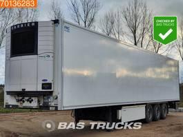 koel-vries oplegger Krone Bi-/Multitemp 3 axles Doppelstock Liftachse Trennwand 2013