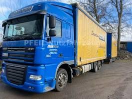 mega-volume vrachtwagen DAF XF105-460 SC- Jumbo-Intarder-Durchlader-Getränke 2012