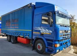 huifzeil vrachtwagen DAF 95 400 1995