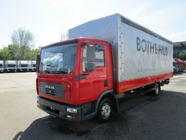 open laadbak bedrijfswagen MAN TGL 8.180 BL Pritsche/Plane 7,20 m*SCHIEBE 2006