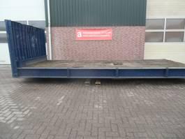 wissellaadbak container N4570, containerflat